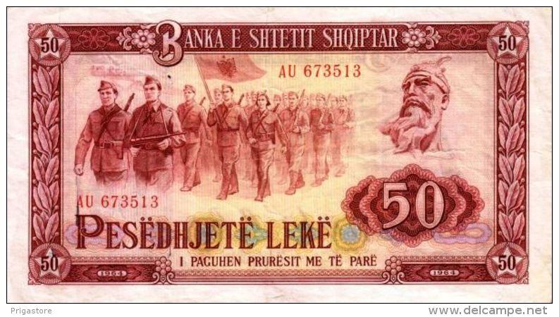 Albanie - Albania 1964 Billet 50 Leke Pick 38 Neuf UNC - Albanie