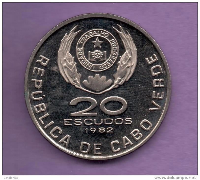 CABO VERDE - 20 Escudos 1982 SC  KM20 - Cap Vert