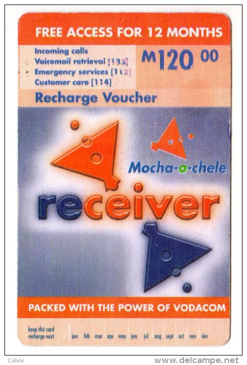 LESOTHO Prépayée VODACOM M120 Année 2004 - Lesotho