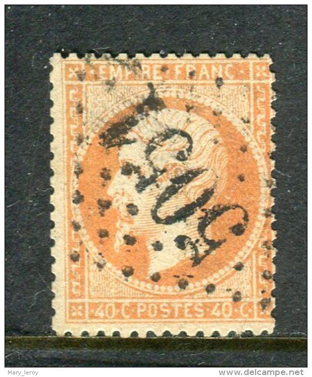Rare N° 23 Cachet GC 5051 Oran - 1862 Napoléon III.