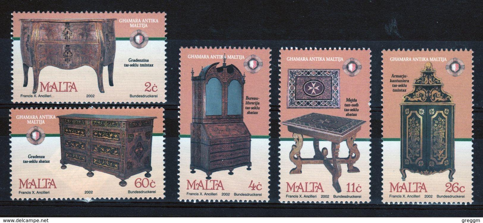 Malta Unmounted Mint Set Of Stamps For Antique Furniture. - Malta