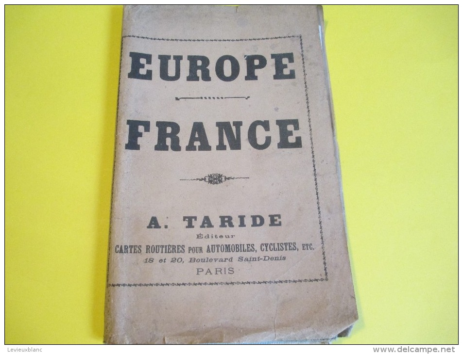 France / A Taride/ Cartes Automobiles, Cyclistes//Europe Centrale-Chemins De Fer-Lignes Navigation/Vers 1900 PGC115 - Carte Geographique
