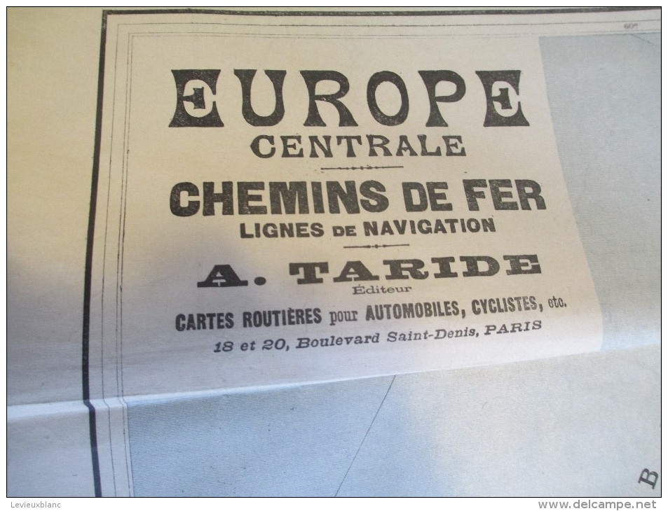 France / A Taride/ Cartes Automobiles, Cyclistes//Europe Centrale-Chemins De Fer-Lignes Navigation/Vers 1900 PGC115 - Geographical Maps