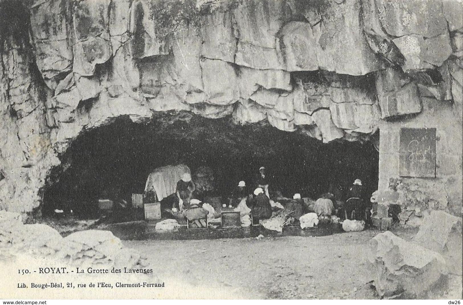 Royat - La Grotte Des Laveuses - Librairie Bougé-Béal - Carte Non Circulée - Other