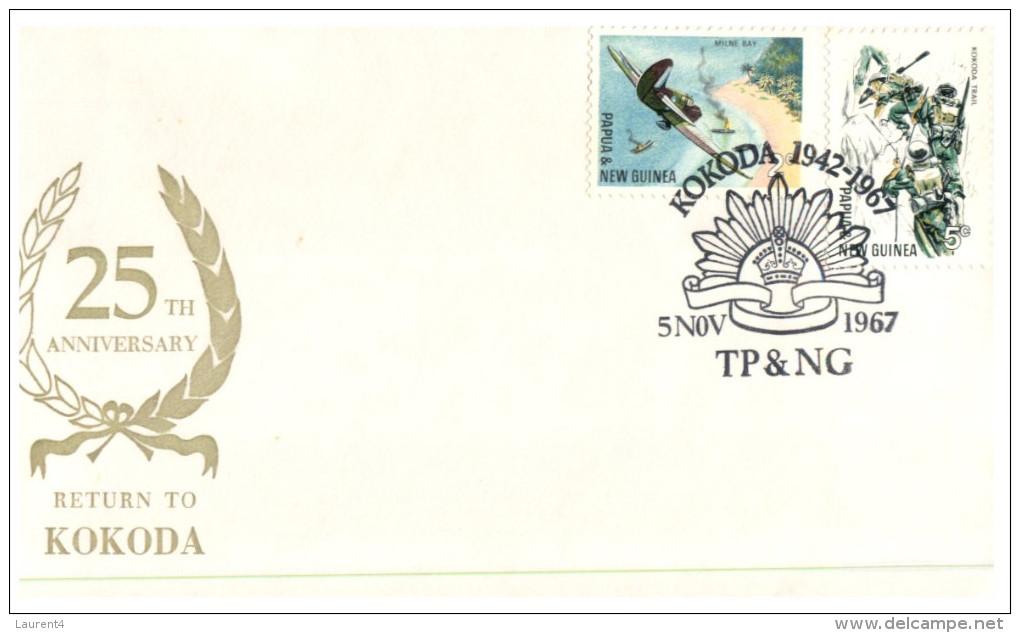 (125) Papua New Guinea FDC Cover For Kokoda Battle - 1967 - Papouasie-Nouvelle-Guinée