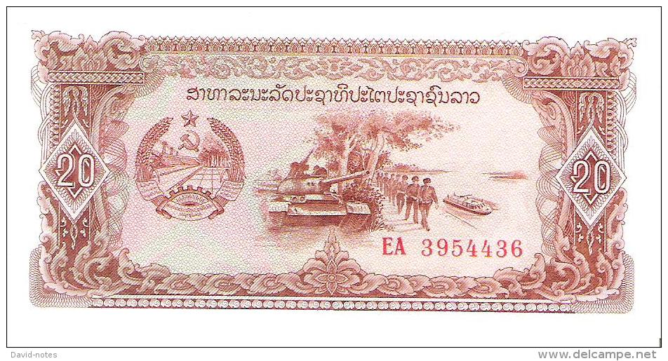 Laos - Pick 28 - 20 Kip 1979 - Unc - Laos