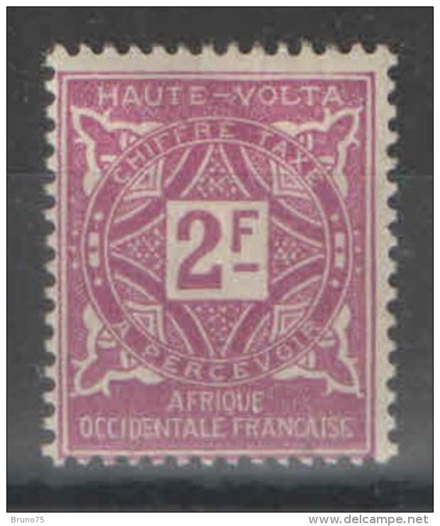 Haute-Volta - YT Taxe 19 * - 1928 - Haute-Volta (1920-1932)