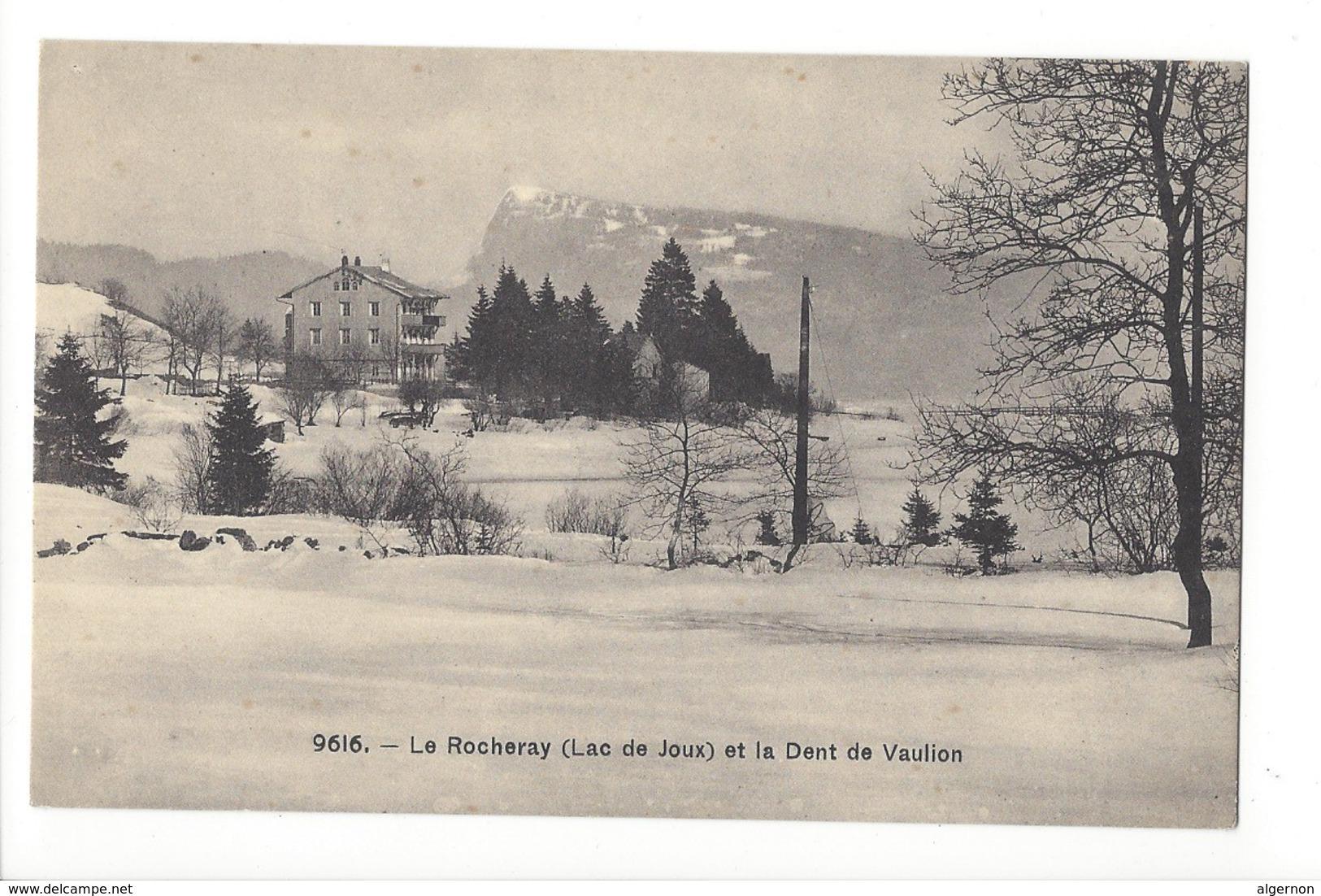 14748 -  Le Rocheray Lac De Joux Et La Dent De Vaulion En Hiver - VD Vaud
