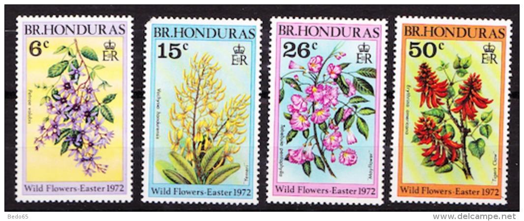 Honduras   N° 282 A 285 NEUF**TTB  SANS CHARNIERE / MNH  DENT COUTE SUR N° 283 - British Honduras (...-1970)