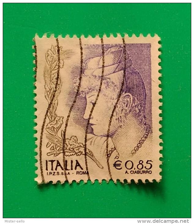 ITALIA. BÁSICOS. USADO - USED. - 6. 1946-.. Repubblica