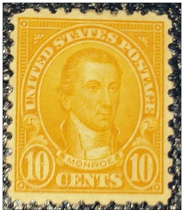 Amerika // Monroe 10cts.TOP- RARITAET  Perf.(10 ) SC# 562c - 1847-99 Unionsausgaben