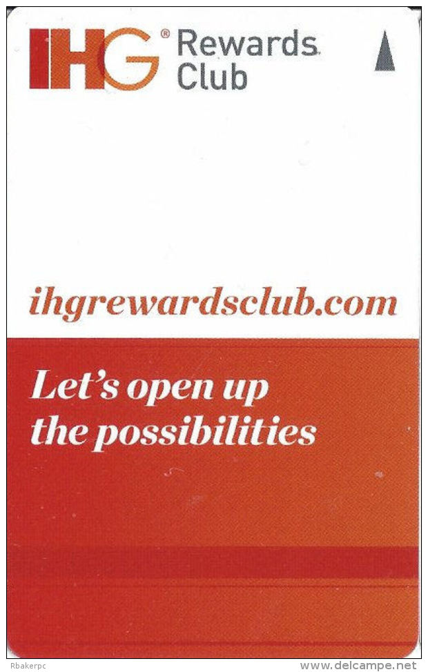 IHG Rewards Club - Hotel Room Key Card - Hotel Keycards