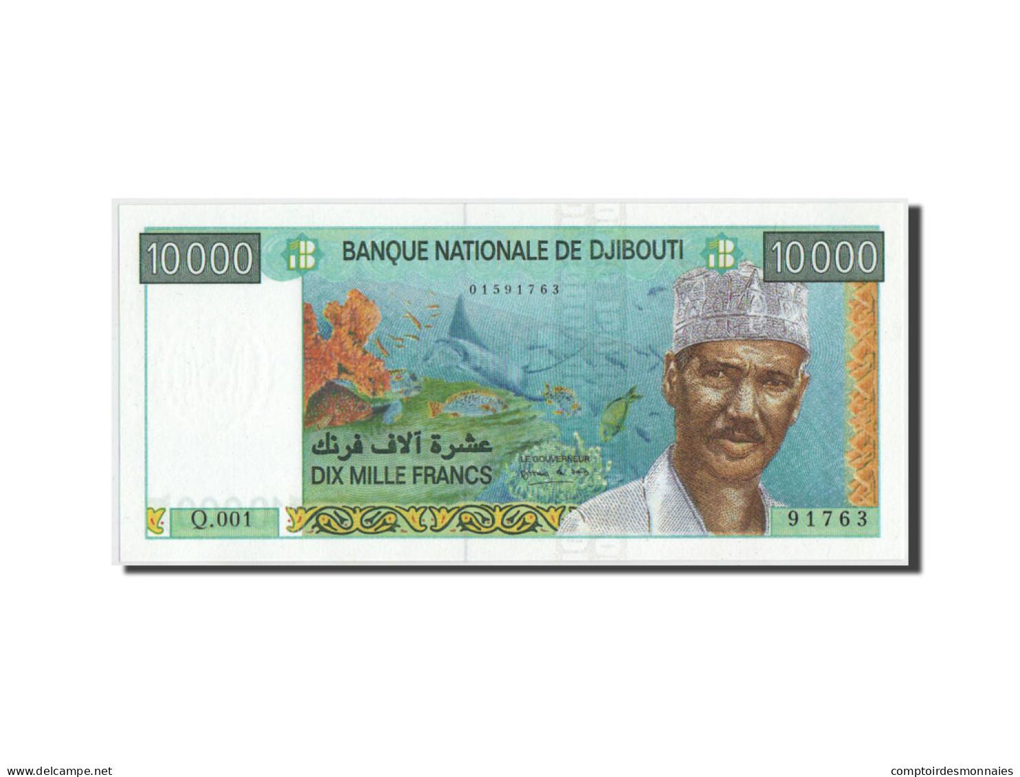 Djibouti, 10000 Francs, 1999, KM:41, NEUF - Djibouti