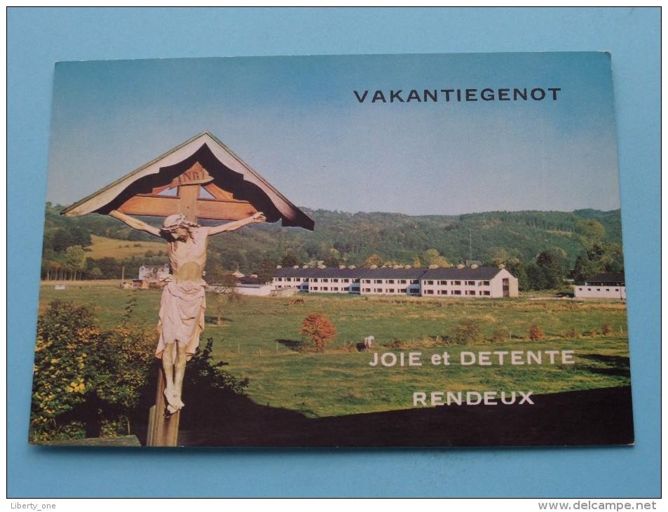 Vakantiegenot - Joie Et Detente  Anno 19?? ( Zie Foto´s Voor Detail ) ! - Rendeux
