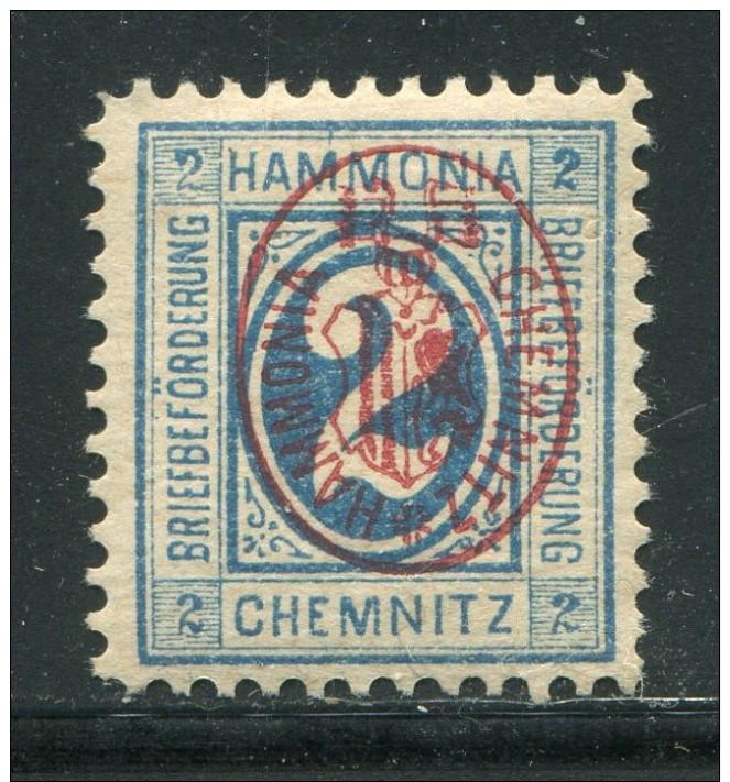 D.Privatpost / Chemnitz, Hammonia, 2 Pfg. * (11077) - Private