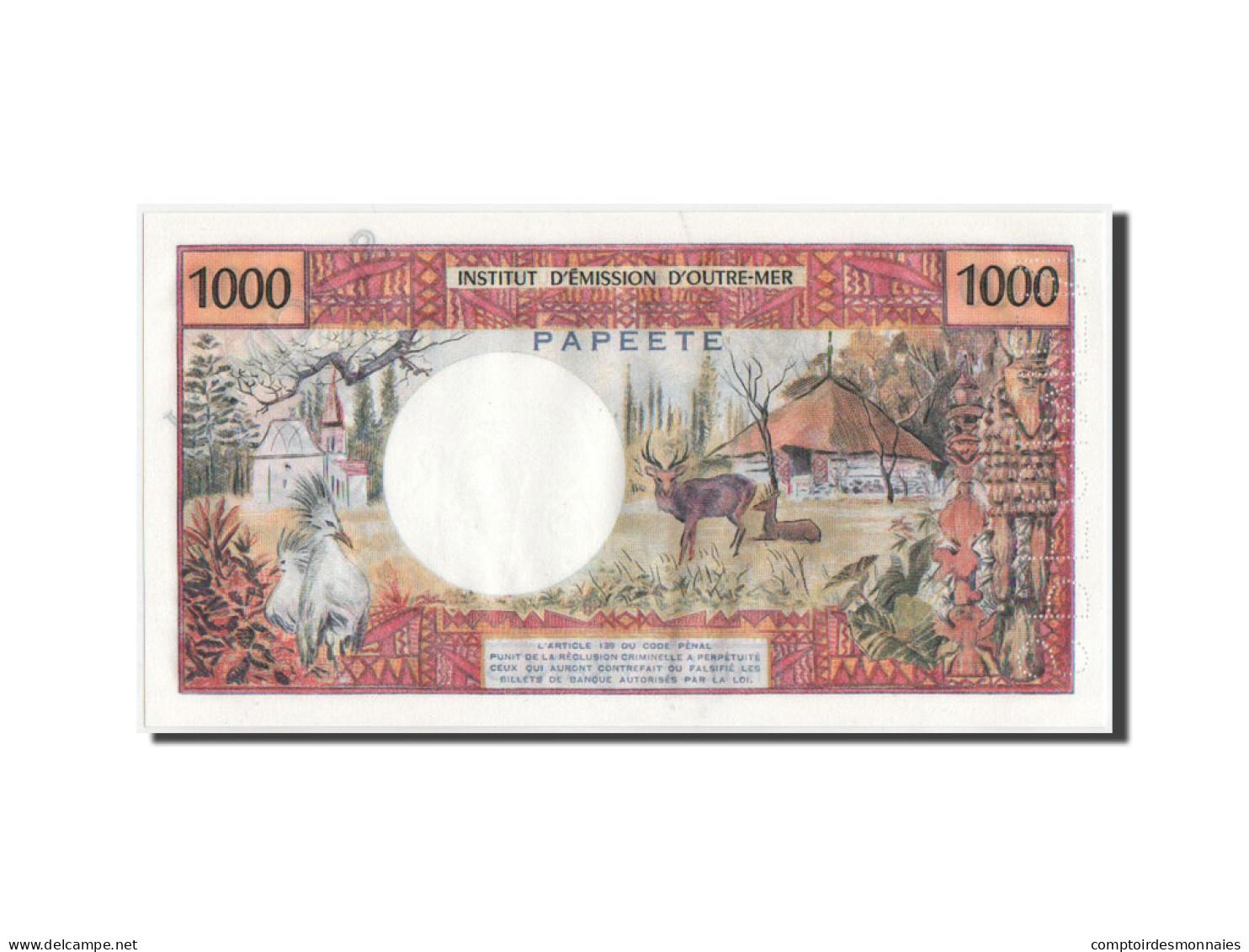 Tahiti, 1000 Francs, 1983, SPECIMEN, KM:27cs, NEUF - Papeete (French Polynesia 1914-1985)