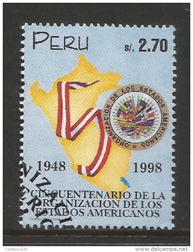 E)1998 PERU, ORGANIZATION OF AMERICAN STATES, (OAS), 50TH ANNIV, 1174, A521, MNH - Peru