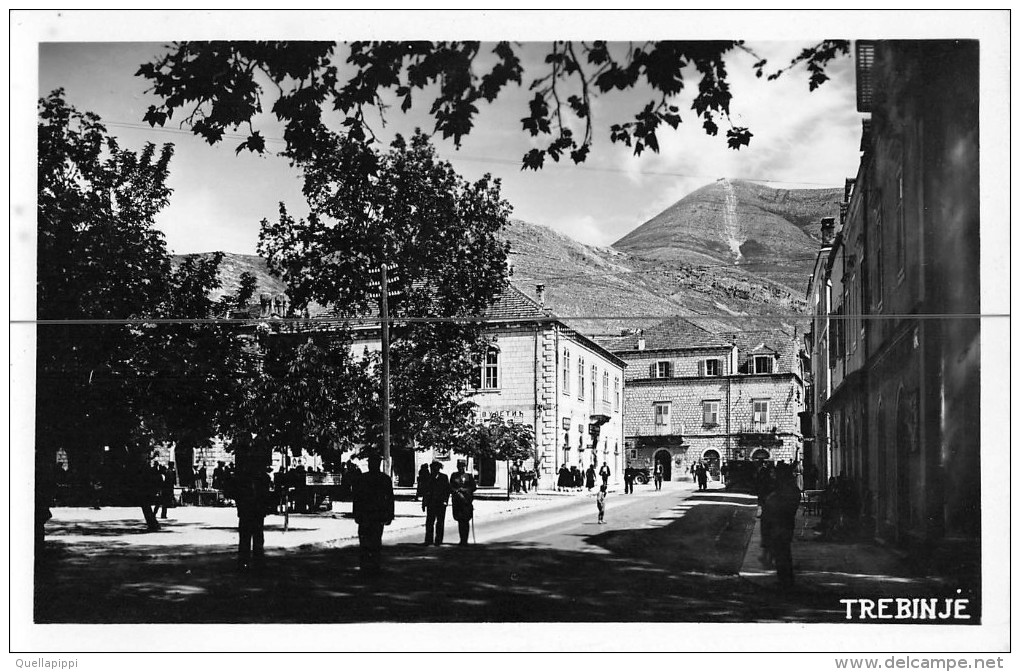"04467 ""TREBINJE"" ANIMATA, MILITARE.  CART NON SPED - Bosnia Erzegovina"