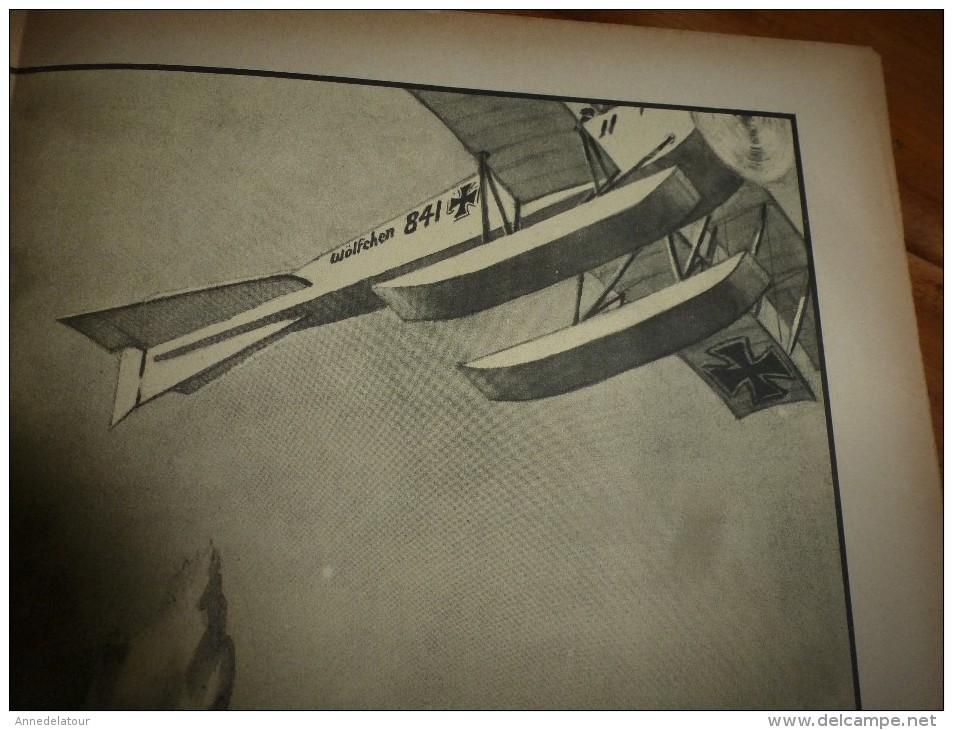 """Guerre Navale Grav. Cecil King : LA PRISE DU VAPEUR """"WAIRUNA"""" (dim. Document = 50cm X 33cm - Boten"""