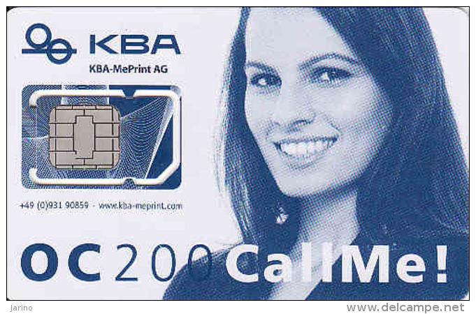 Germany-mint SIM Karte, Mit Modernster Offsetdruck-Technologie Hat KBA-MePrint AG Die OC 200 Ausgerüstet, Different Chip - Other Collections