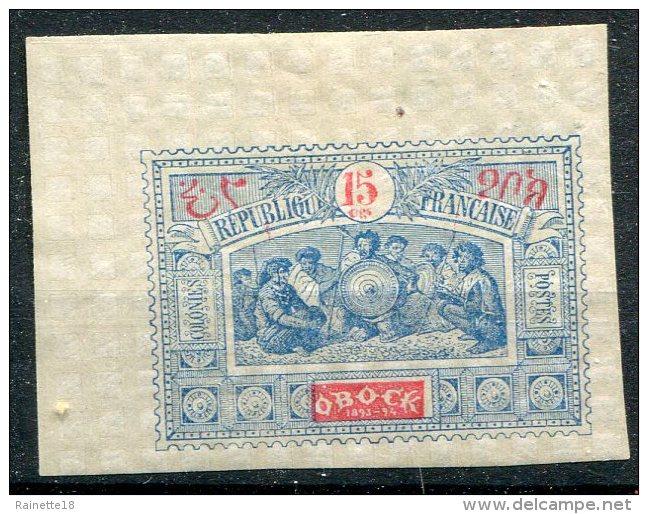 Obock                       N°  52  * - Unused Stamps