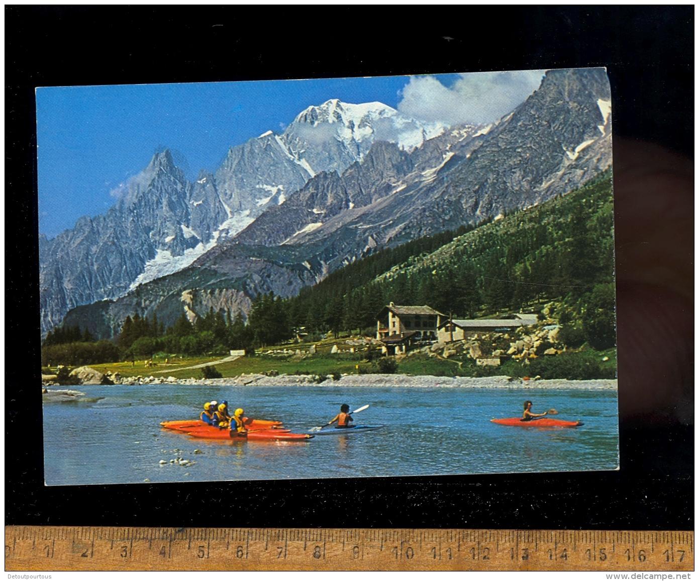 COURMAYEUR : Val Ferret / Canoe Kayak  Kayaking - Italia