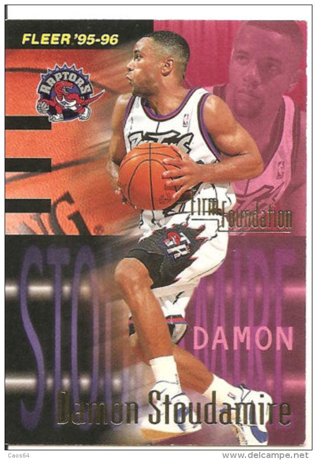CARD NBA FLEER '95-'96 STOUDAMIRE  N 416 - Trading Cards