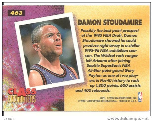 CARD NBA FLEER '95-'96  STOUDAMIRE  N 463 - Altri