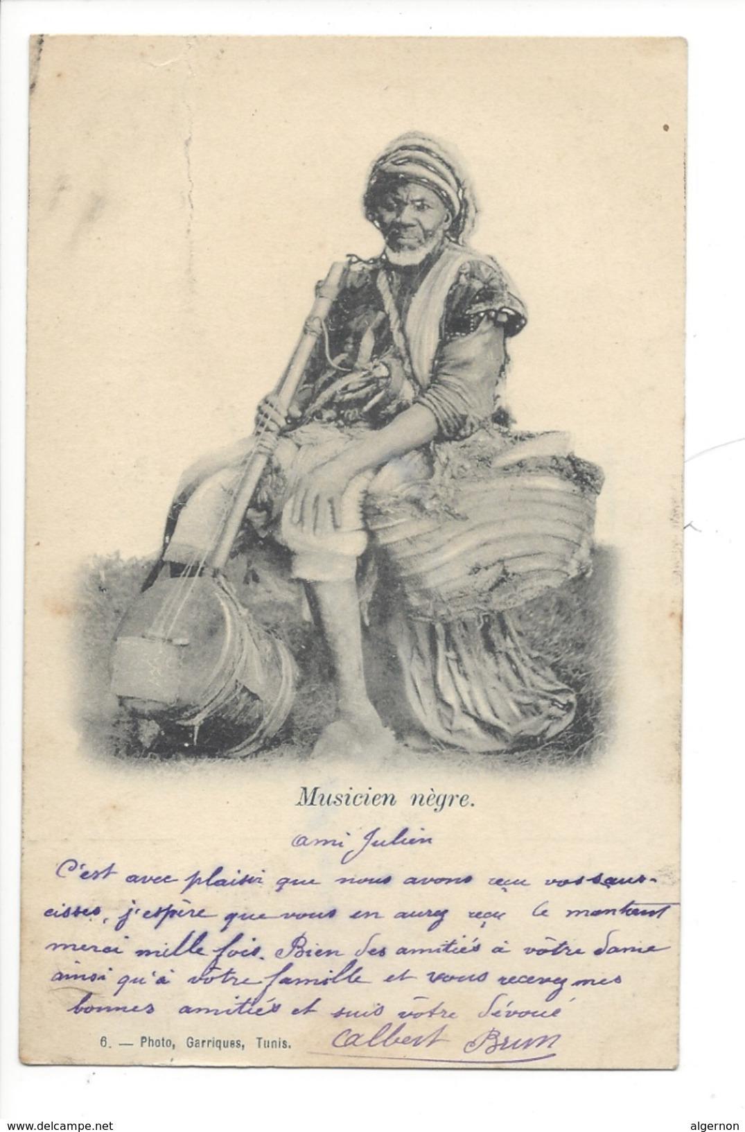14779 -Musicien Nègre - Musique Et Musiciens