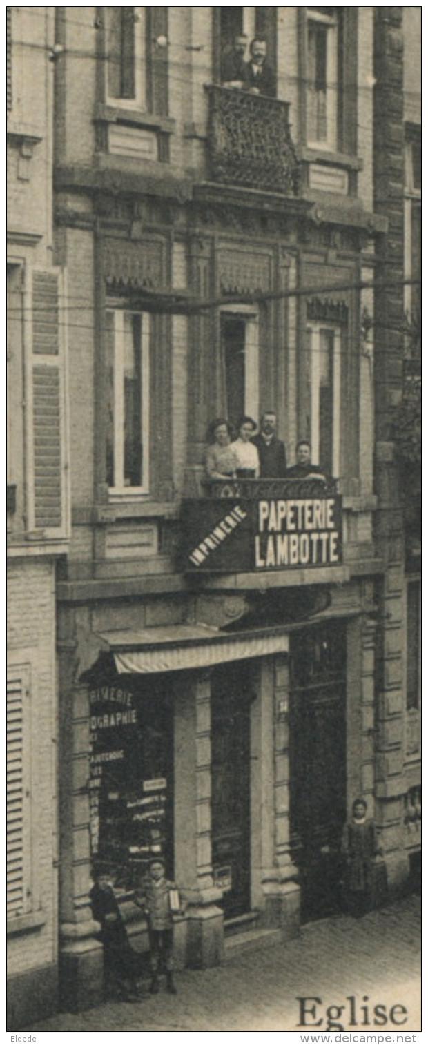 Verviers Eglise St Lambert Et Café Antialcoolique Rue Du Colège Edit Jules Lambotte Maison De L Editeur - Verviers