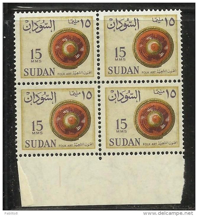 SUDAN SOUDAN 1962 FOLK ART STRAW COVER COPERCHIO DI PAGLIA M 15 15m BLOCK BLO...