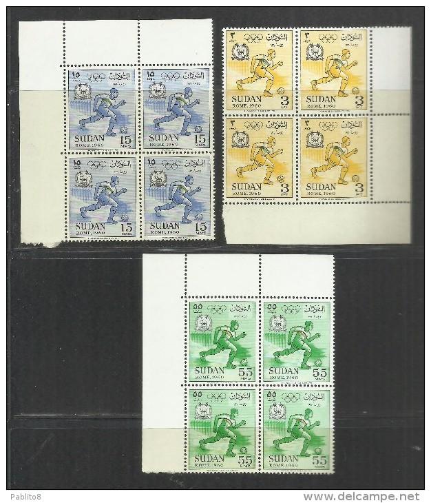 SUDAN SOUDAN 1960 OLYMPIC GAMES ROME SOCCER GIOCHI OLIMPICI CALCIO OLIMPIADE ...