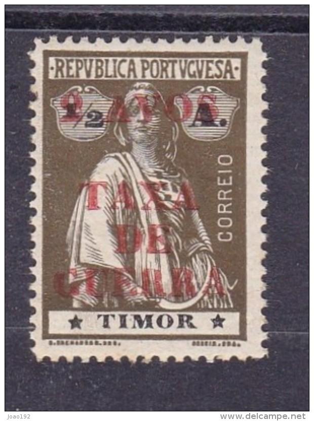 TIMOR- TIPO CERES - COM SOBRECARGA - 2 AVOS / TAXA / DE / GUERRA - IMPOSTO POSTAL- AFINSA  Nº 1 - *** MNH - Timor