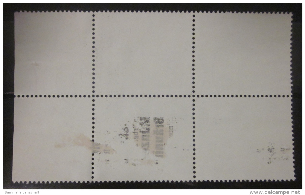 Briefmarken Bund BRD 1991 Vierer Block Rand Rechts Zusammendruck Libellen - Se-Tenant