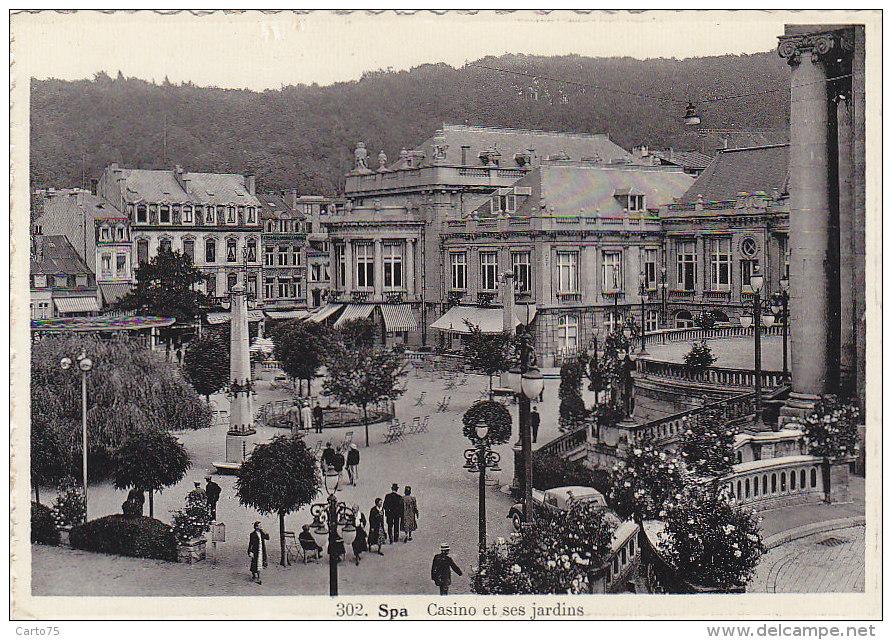 Belgique - Spa - Casino Jardins - Spa