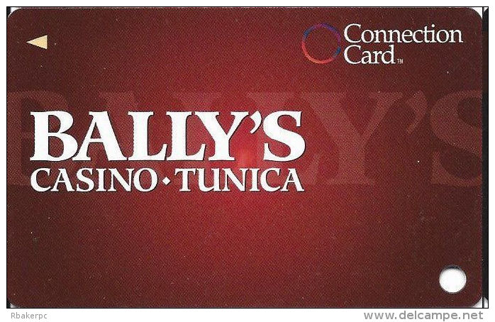 Bally´s Casino Tunica, MS Connection Card Slot Card - No Text Over Mag  (BLANK) - Casino Cards