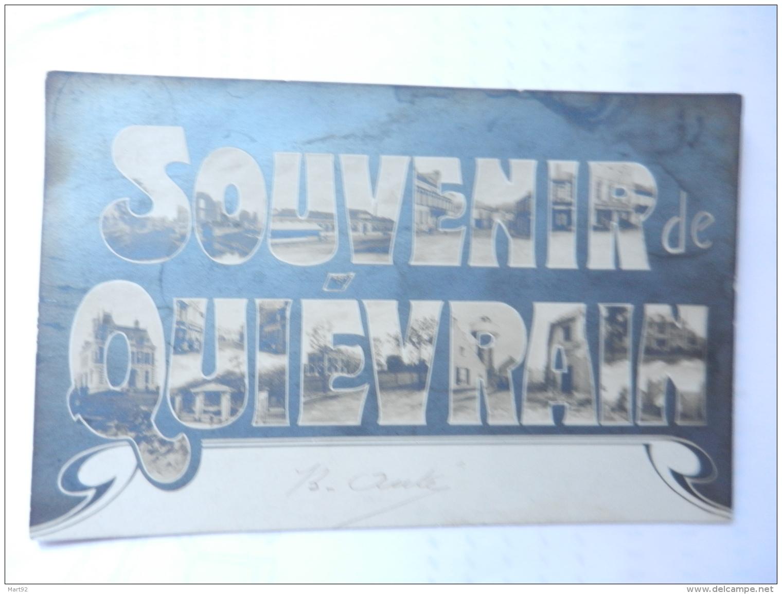 SOUVENIR DE QUIEVRAIN - Quiévrain