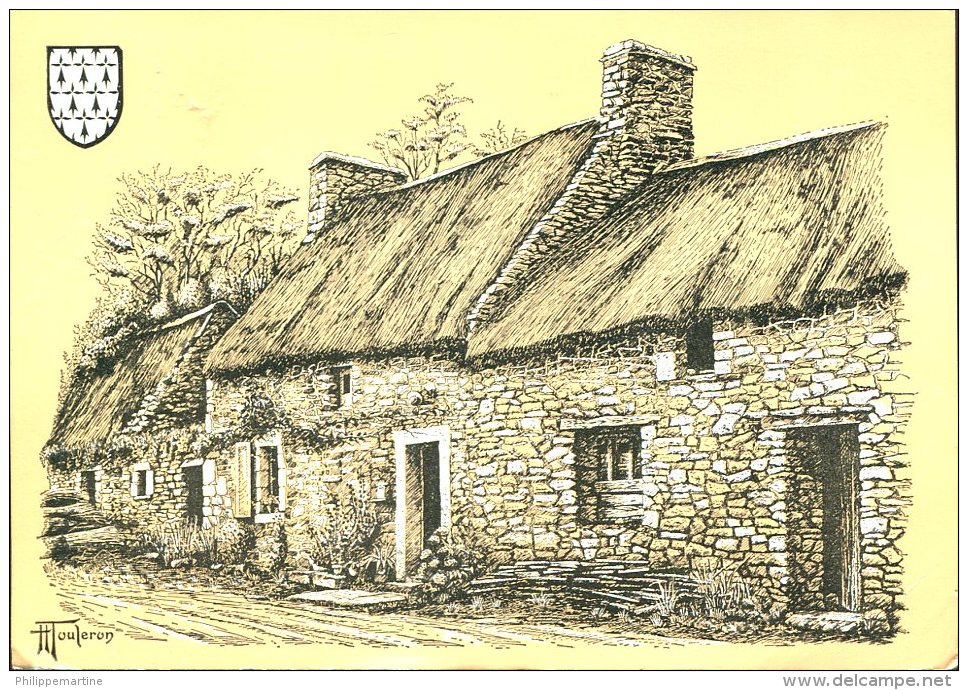Touleron : Chaumière Du Finistère - Other Illustrators