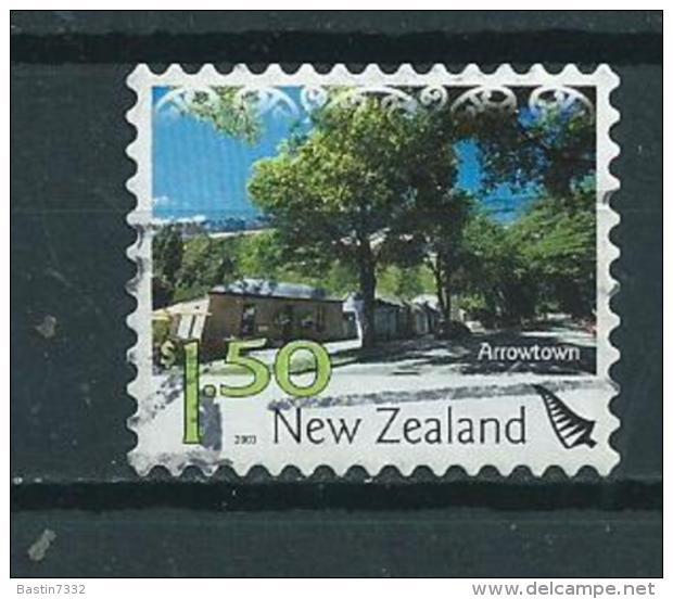 2003 New Zealand $1.50 Arrowtown Self-adhesive/zelfklevend Used/gebruikt/oblitere - Nieuw-Zeeland