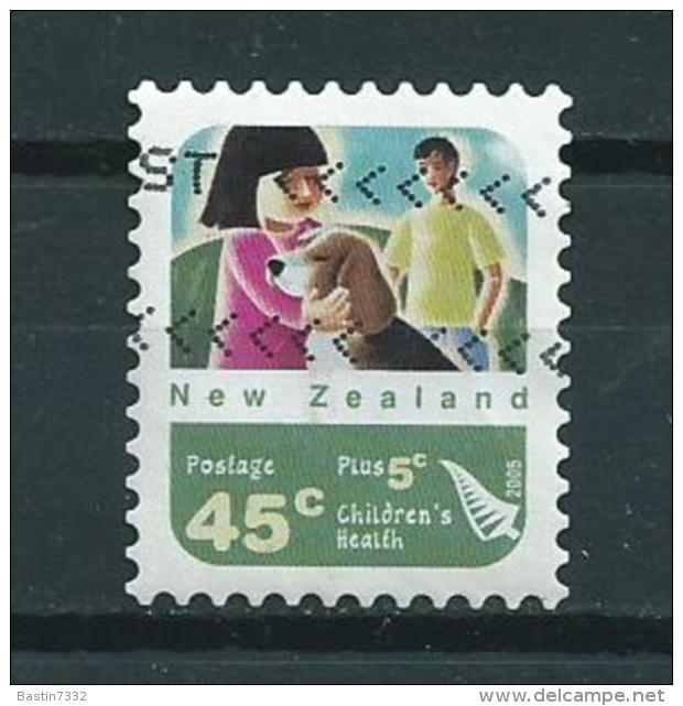 2005 New Zealand Self-adhesive/zelfklevend Children's Health Used/gebruikt/oblitere - Nieuw-Zeeland
