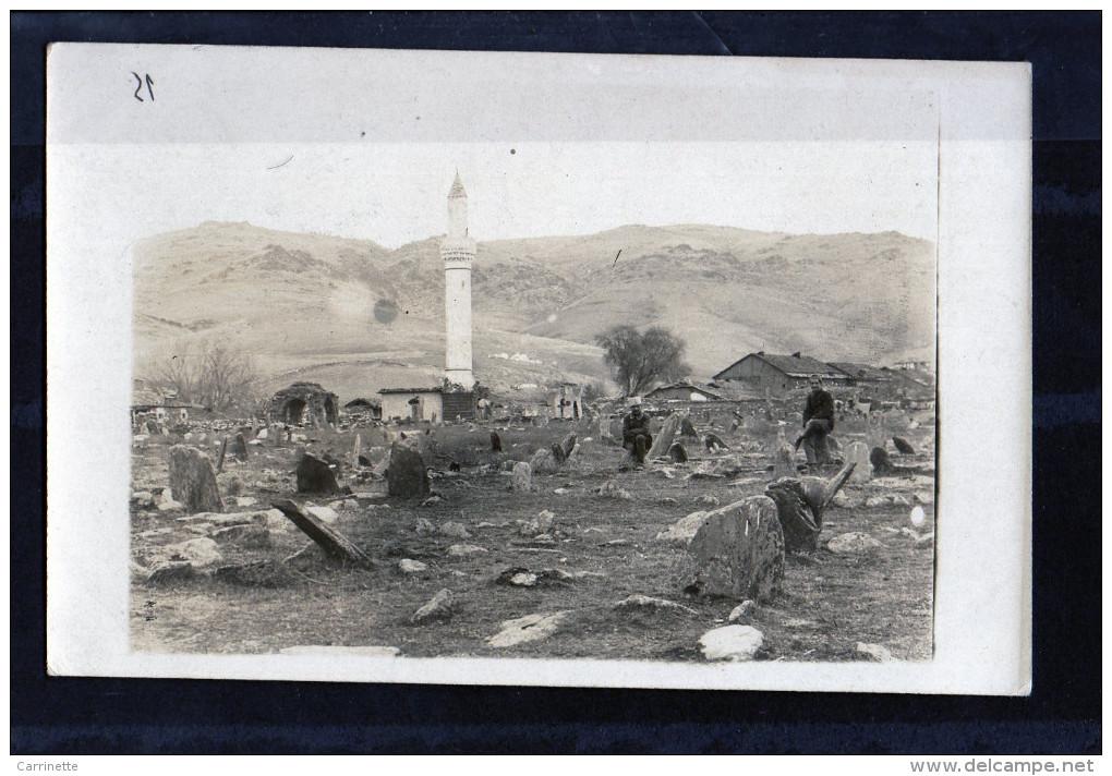 SYRIE - ALEP? - CARTE PHOTO - Militaires - Tadjikistan