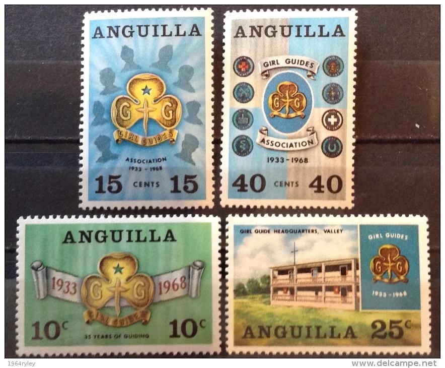 Anguilla 1968 MH* # 40/43 - Anguilla (1968-...)