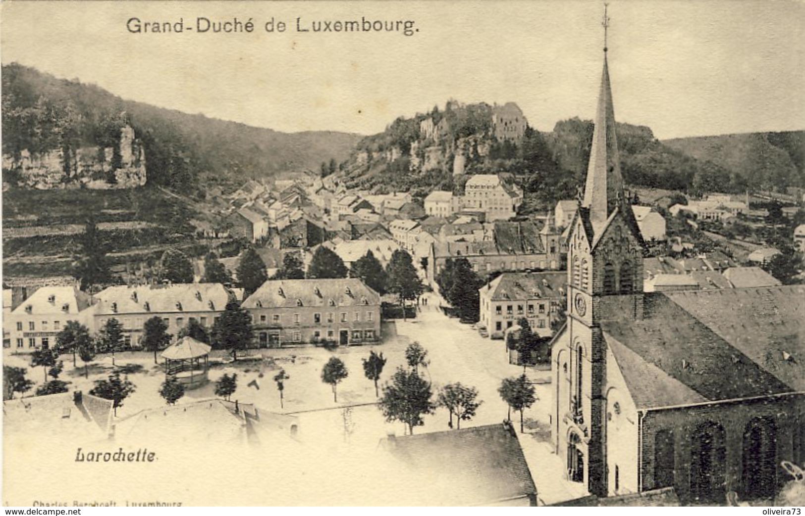 LUXEMBOURG, LAROCHETTE, 2 Scans - Larochette