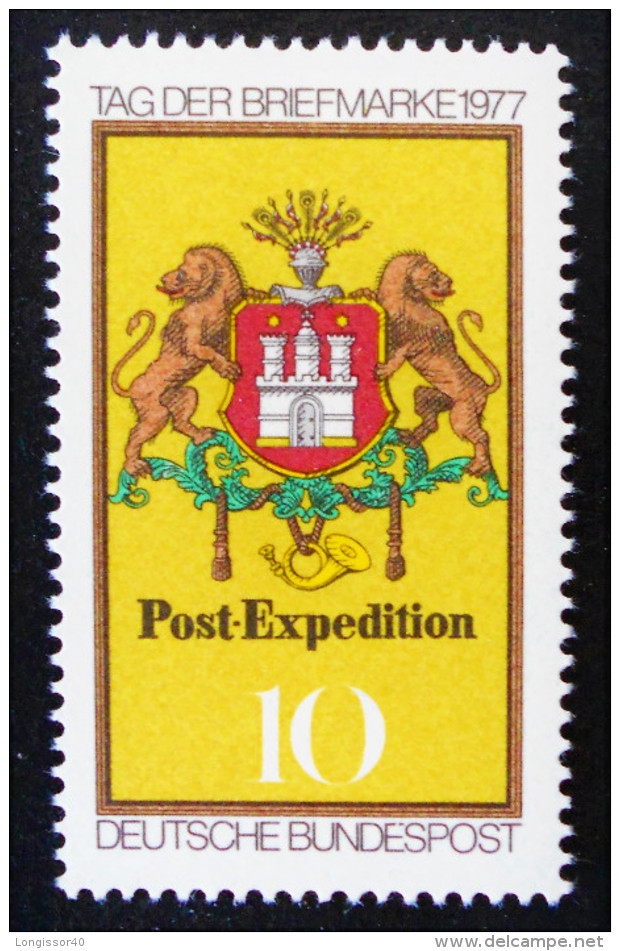 JOURNEE DU TIMBRE 1977 - NEUF ** - YT 795 - MI 948 - [7] Federal Republic