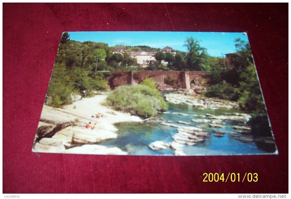 SAINT LAURENT LE MINIER  ° BAIGNADE DANS LA VIS  LE 10 08 1994 - France