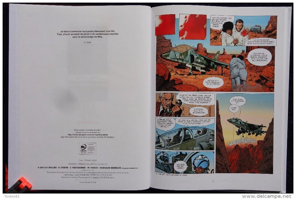S. Cuzor / LF. Bollée - XIII - N° 6 - Mystery - Billy Stockton - Dargaud - ( E.O. 2013 ) . - XIII
