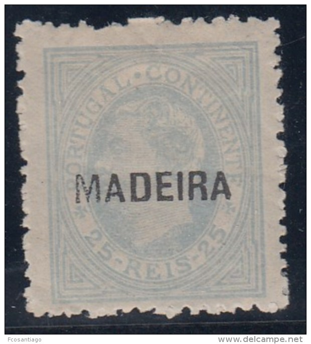 PORTUGAL/MADEIRA 1880 - Yvert #32a - MLH * - Madeira