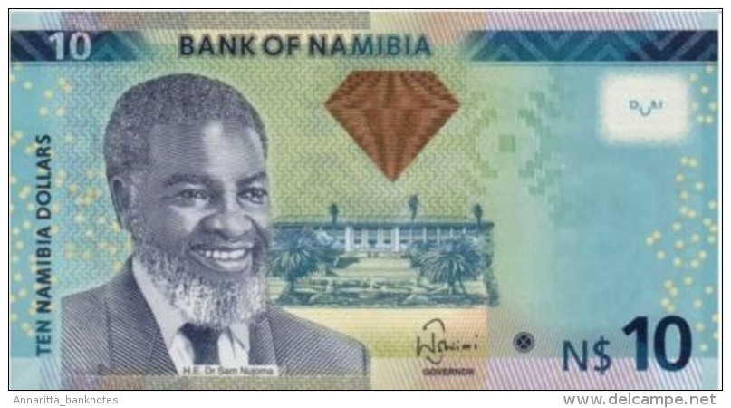 NAMIBIA 10 DOLLARS 2012 B209 (P11a) UNC - Namibia
