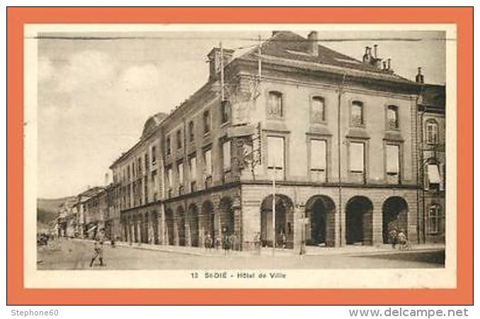 A509 / 327 88 - SAINT DIE Hotel De Ville - Non Classés
