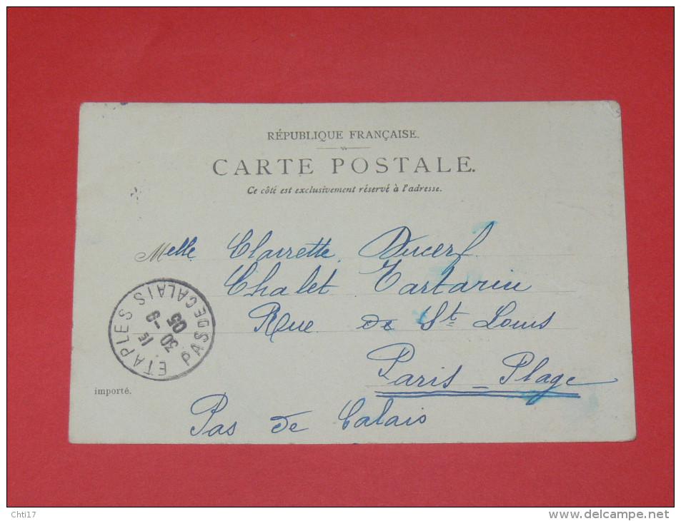 MARLY LE ROI  1905  MACHINES ALIMENTANT LES GRANDES EAUX DE VERSAILLES     CIRC OUI EDIT - Marly Le Roi